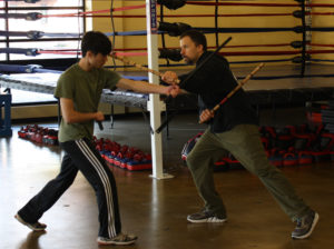 Footwork in Eskrima Training